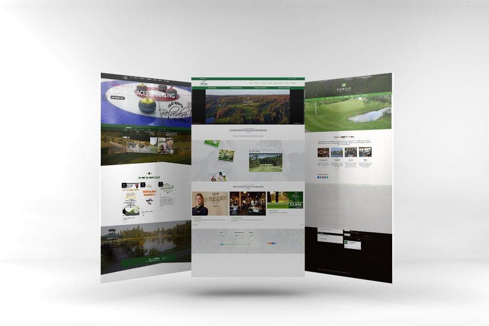 Golf-Web-Mockup